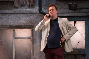 Rory Nolan in Ross O'Carroll-Kelly's Postcards from the Ledge at the Gaiety Theatre